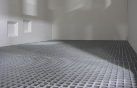Fiberglass Shelters with Containment Floors